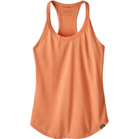 Patagonia Cap Cool Trail Sleeveless Shirt Women orange